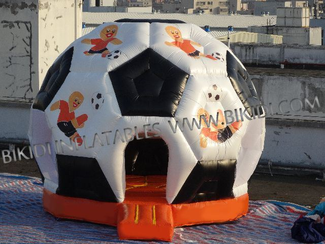 Football Bouncer, CE Inflatable Bouncy House, Inflatable Supplier B1171