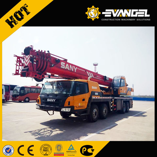Hydraulic Control System Top Brand Sany 5 Sections Booms 50 Ton Loading Capacity Truck Crane Stc500 on Sale pictures & photos