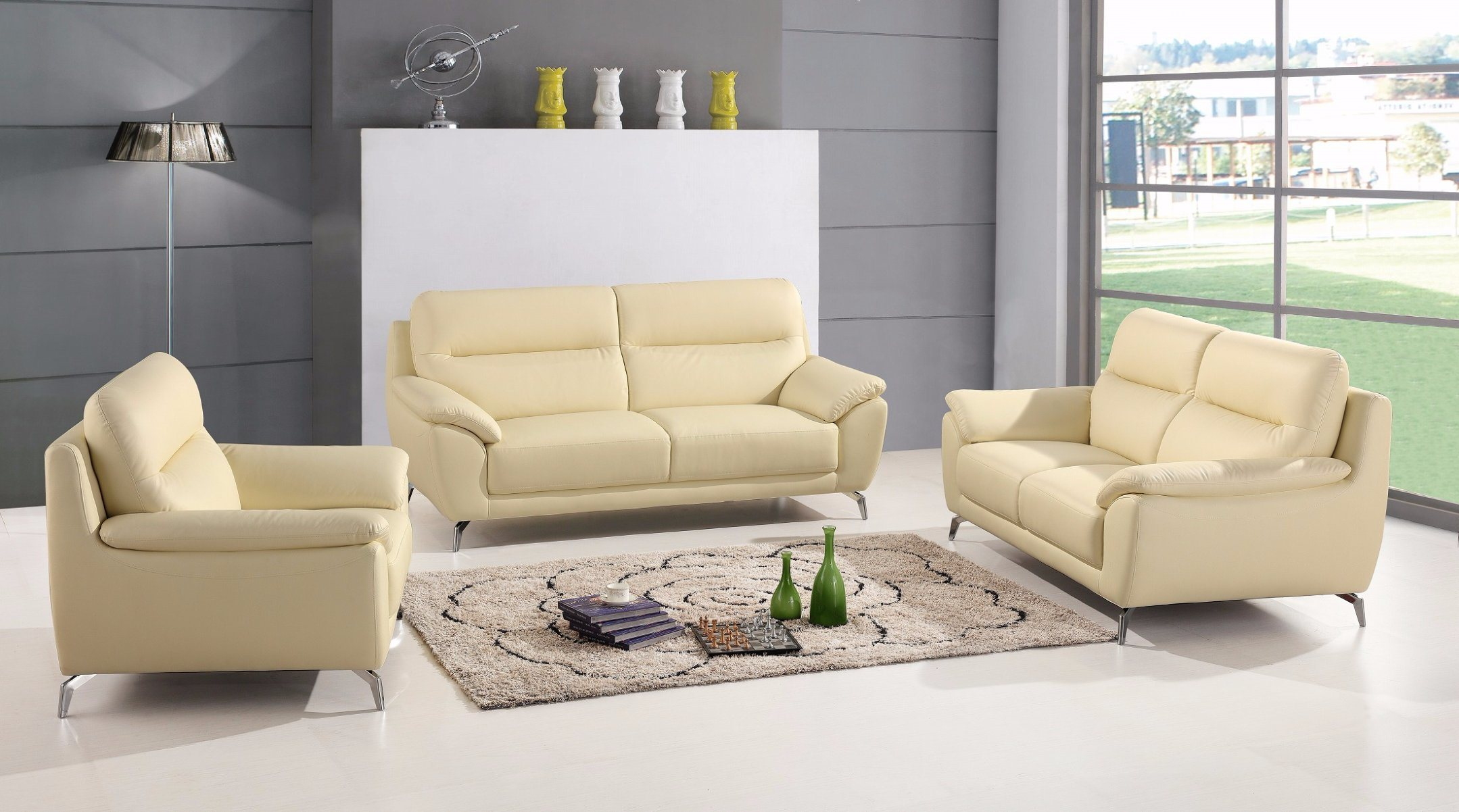 China European Promotion Big L Shape Sectional Leather Sofa Sbl 1715