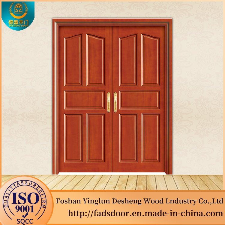 China Desheng Kerala Best Flat Teak Wood Main Door Designs Wooden Mdf
