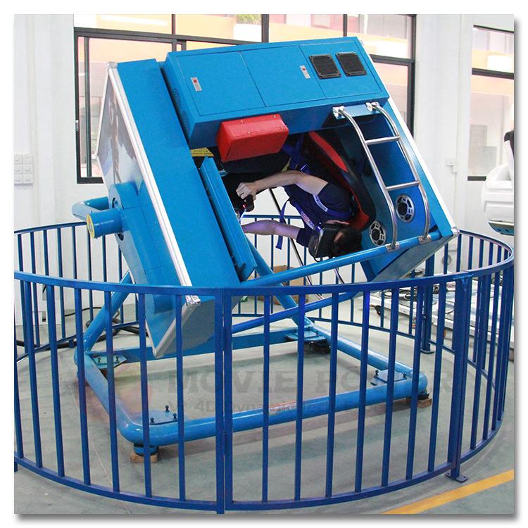 China Amusement Park 720 Degree Flight Simulator Full Flight
