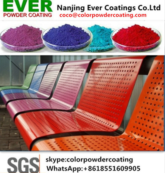 Electrostatic Spray Ral Colors Powder Coating pictures & photos
