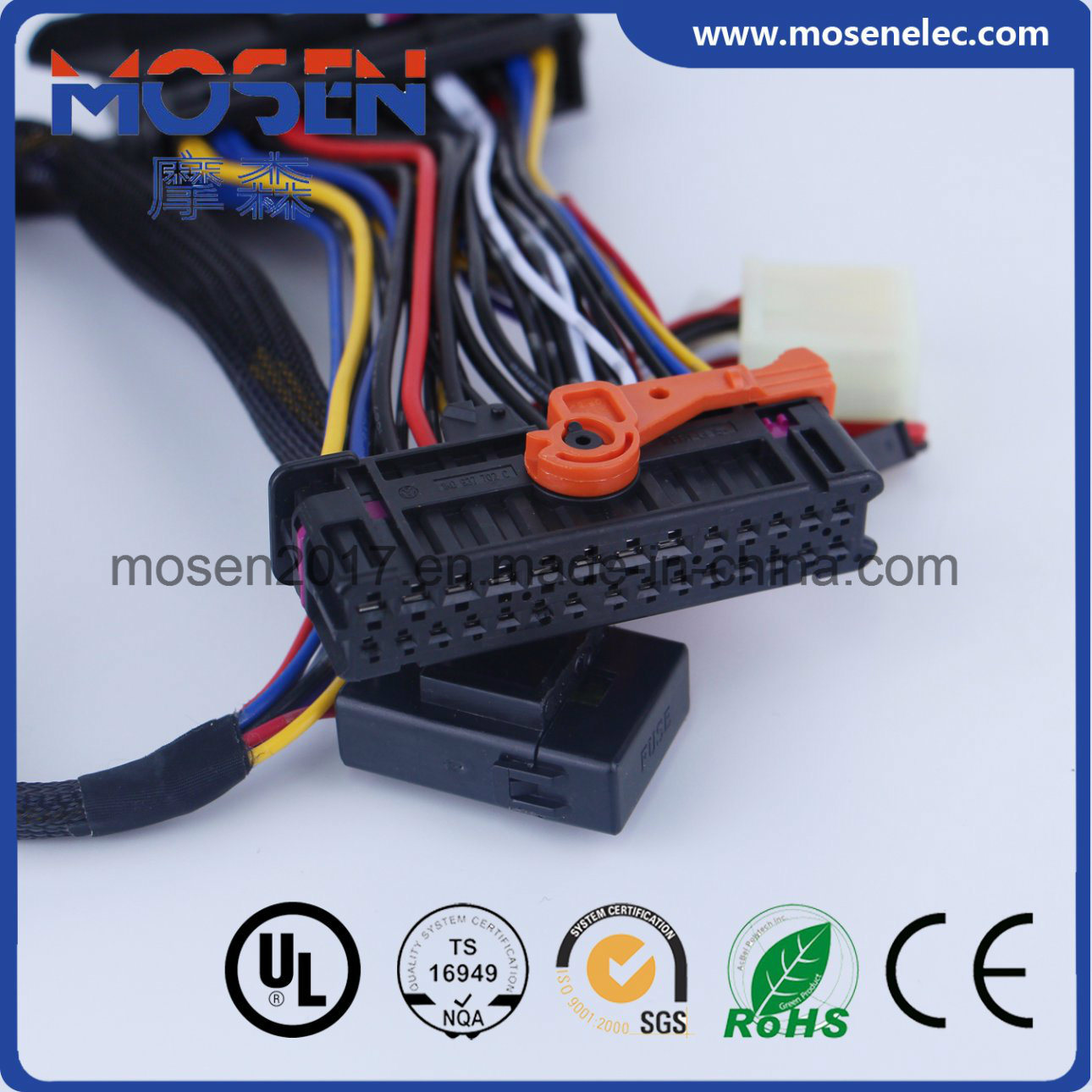 Automotive Wire Harness Connector Wiring Library Connectors Te Jst Auto Vw Car Burglar Alarm