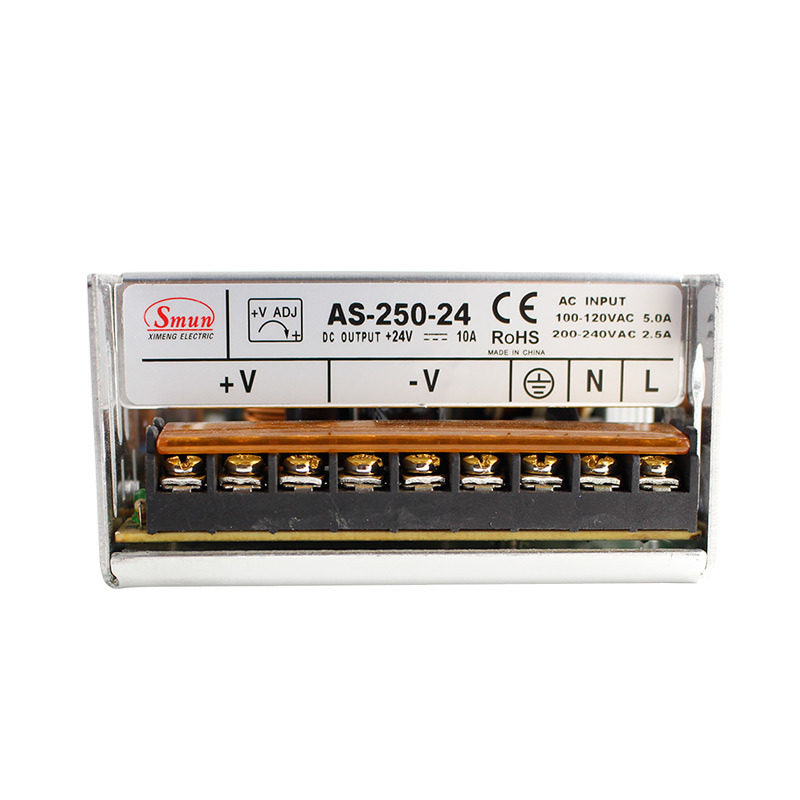 China Smun as-250-24 110V/220VAC to 24VDC 10A Mini Switching