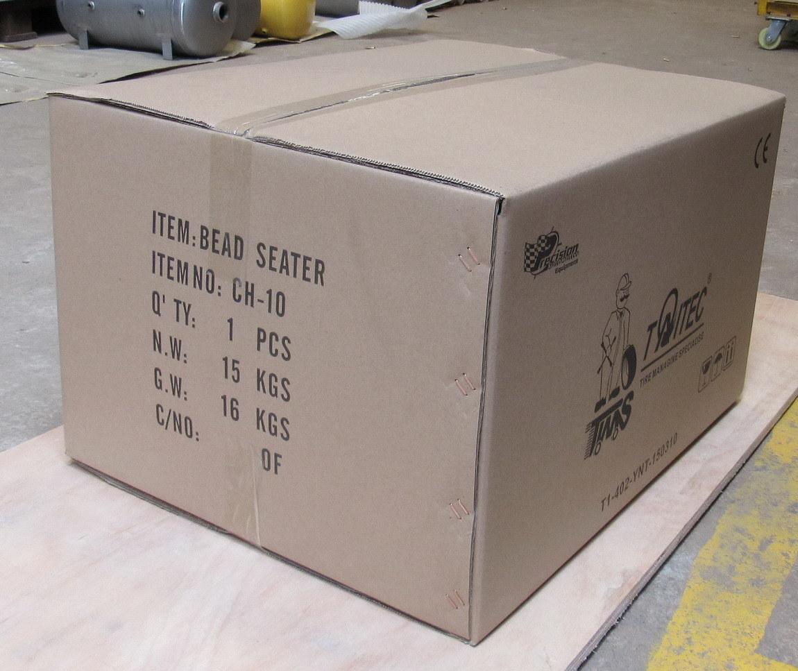 10 Gallon Aluminum Tank Cheetah Bead Seater
