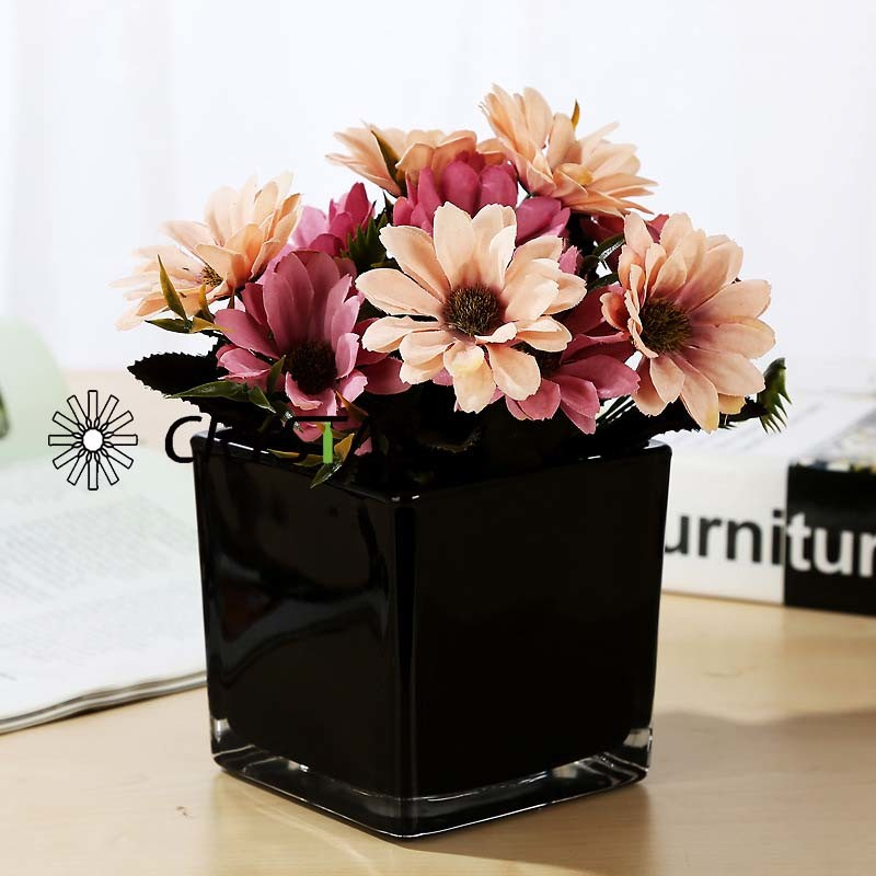 Xuzhou Crystal Glass Products Co. Ltd. & China Glass Mirror Surface Square Flower Vase /Fish Tank ...