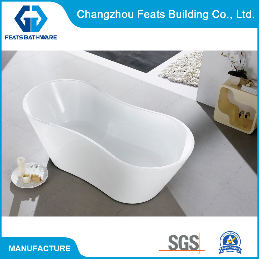 China Two Ends Oval Shape Bathtub High Quality Hot Acrylic Bath Tub ...