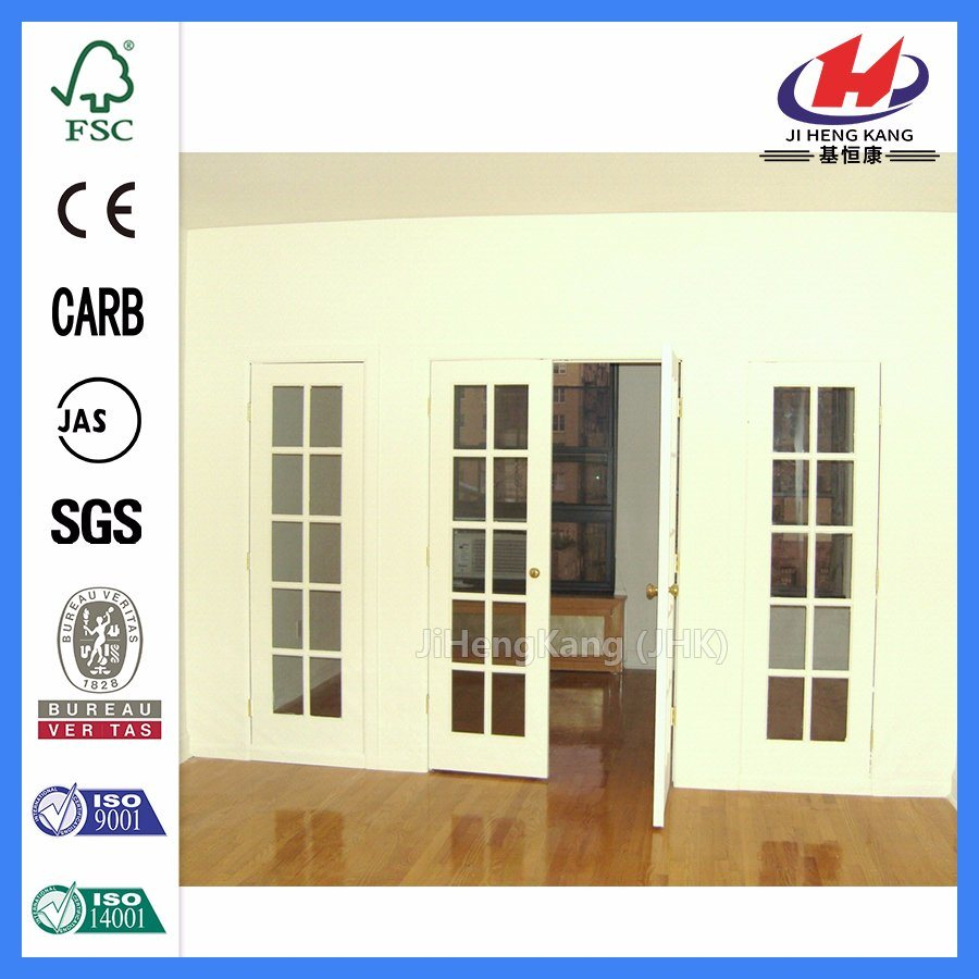 China Swing Door With Frosted Glass Panel Shatterproof Glass Office