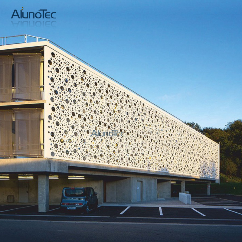 China Aluminum Panel Building Aluminium Facades China