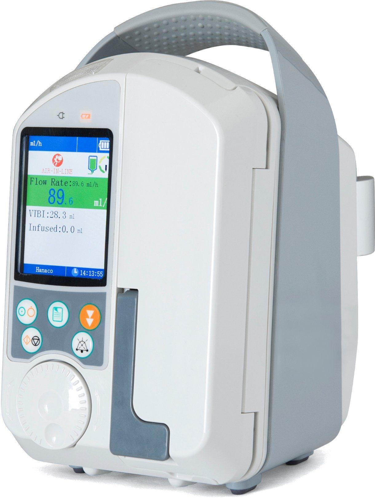 [Hot Item] Medical IV Drug Ambulance Infusion Pump Machine with Drop Sensor