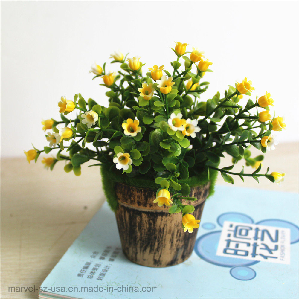 China Silk Flower Fork Milan Artificial Flowers For Wedding Home