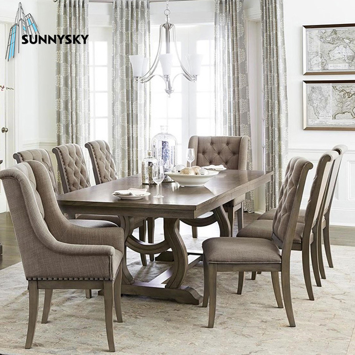 8 Chairs Set Room Furniture, High Quality Dining Room Sets