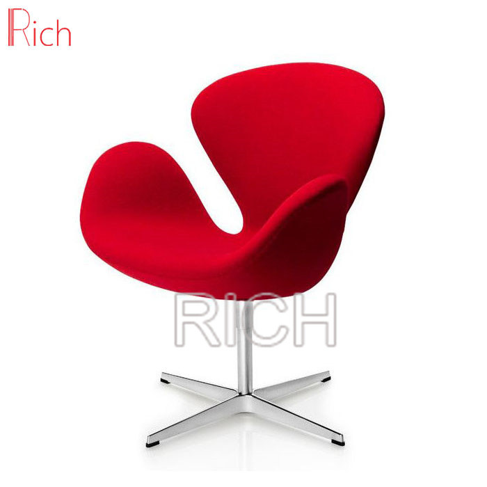Prime Hot Item Customized Color Fabric Swan Swivel Office Chair For Salon Bralicious Painted Fabric Chair Ideas Braliciousco