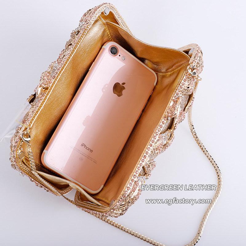 afee15f5491c Fashion Designer Crystal Rhinestone Evening Clutch Bags Wholesale Leb975