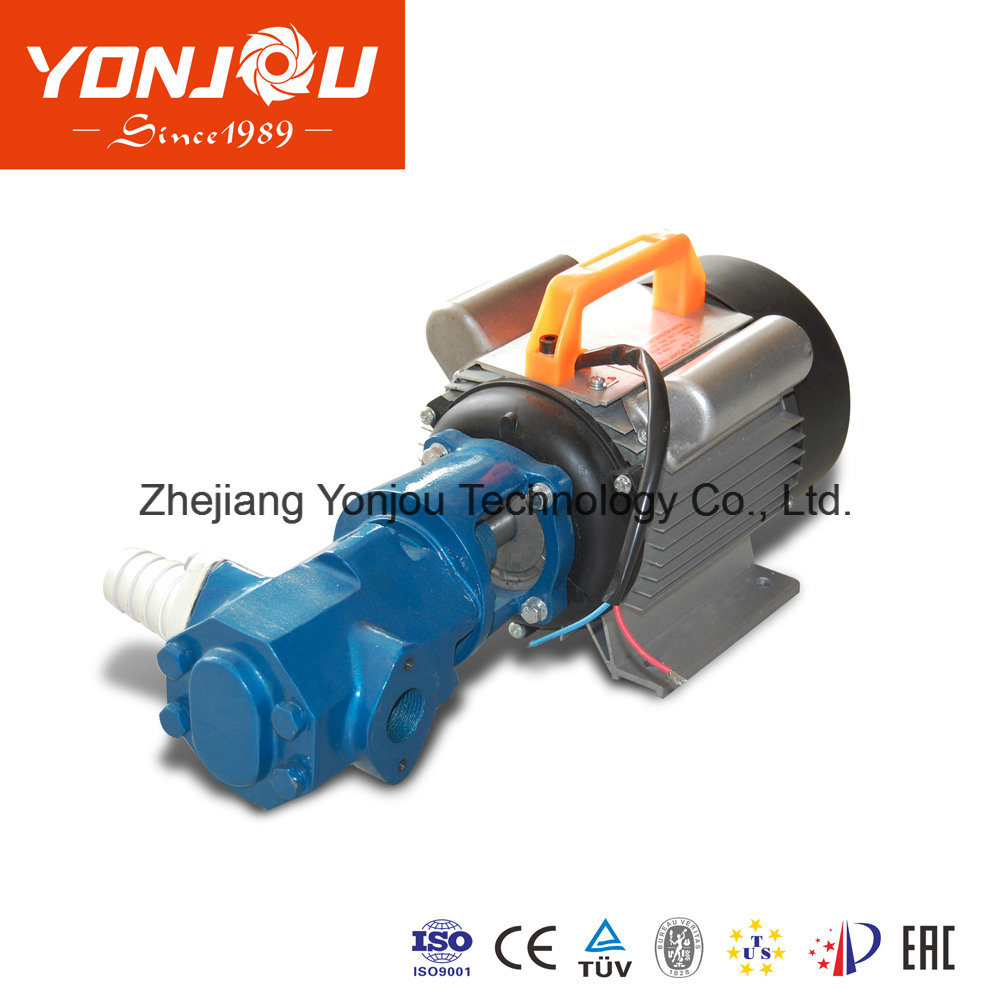 China Waste Oil Electric Change Pump Yonjou Low Pressure Fuel