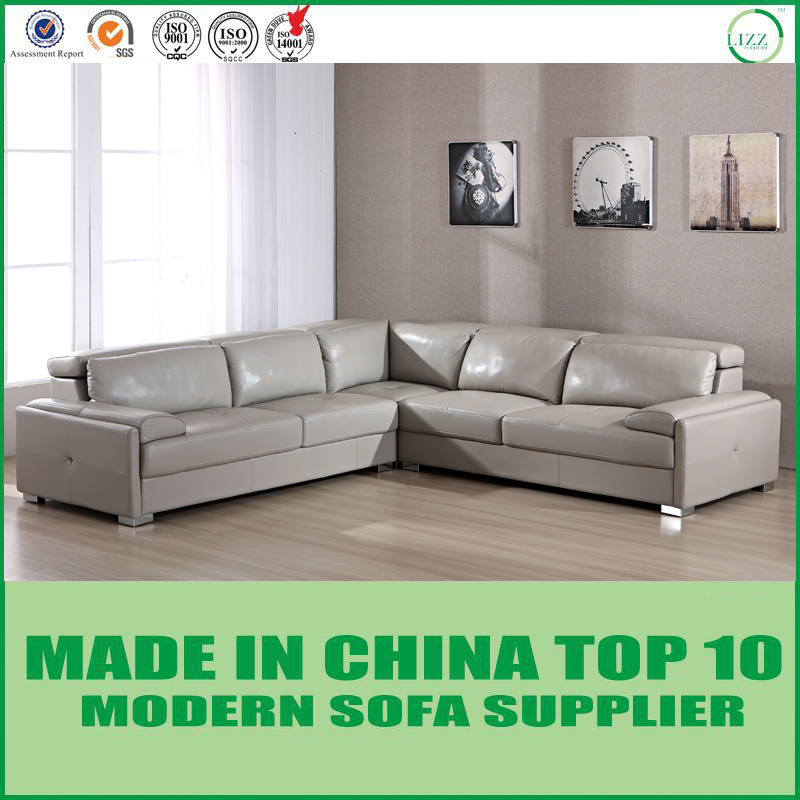 China Modern Italian Leather Sectional Corner Sofa   China Couch, Lounges