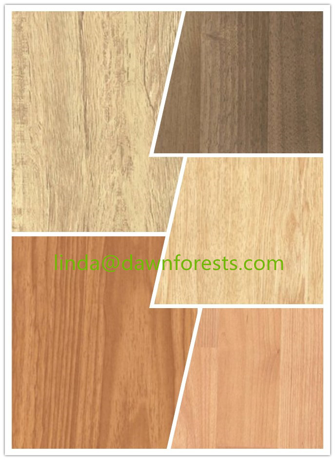 Melamine Mdf Hdf Flooring With Diffe Colors