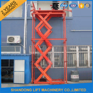 2017 New Steel Plate Warehouse Scissor Lift Lifting Equipment pictures & photos