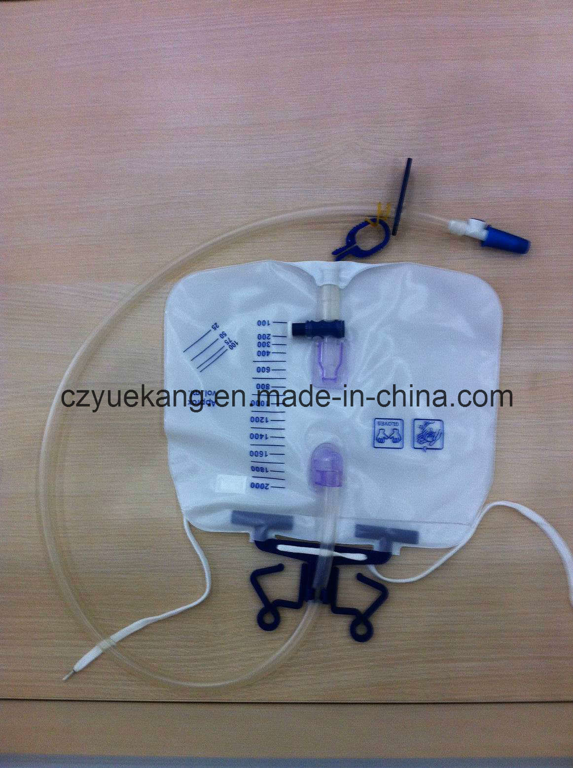 2000ml Luxury Drainage Urine Bag for Clinical