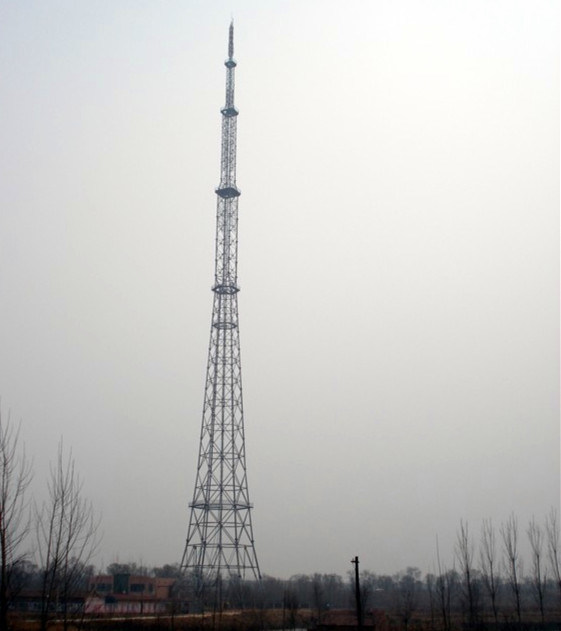 Antenna Guyed Mast Telecom Tower