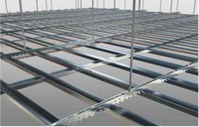 China V Channel Light Gauge Steel Frame For Suspended