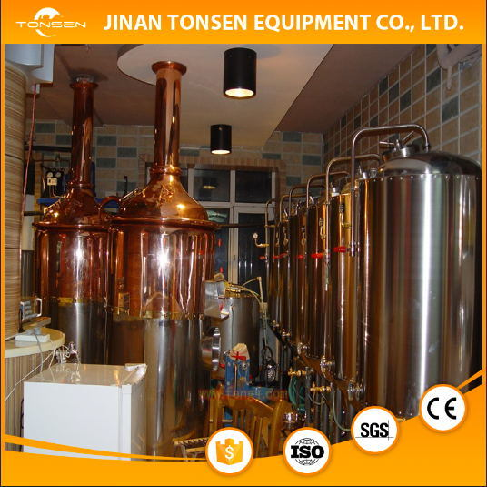 Electric, Steam, Direct Flame Heating 5bbl Red Copper Brewery Equipment pictures & photos