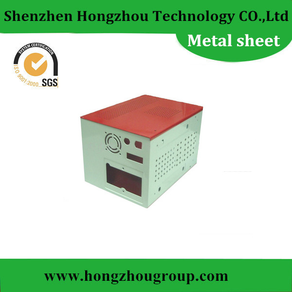 Waterproof Electronic Device Sheet Metal Case with Powder Coating Finish