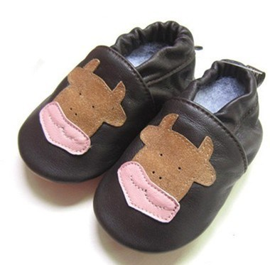 2014 New Design Leather Baby Shoes