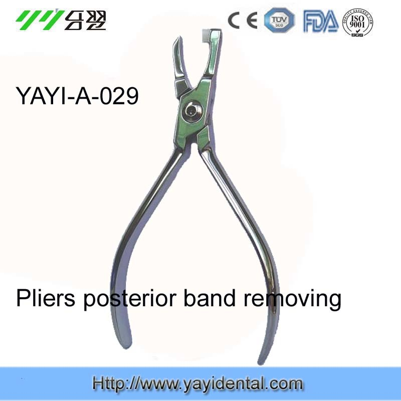 Reliable Orthodontic Pliers Supplier - Posterioband Removing Plier - Strong (A-029)