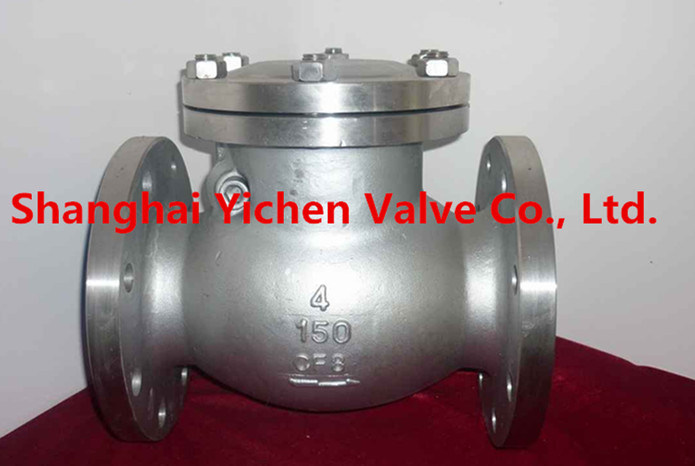High Quality Spring Threaded Stainless Steel China Check Valve (H14) pictures & photos