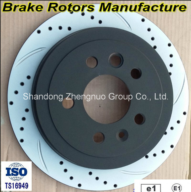Ts16949 Certificates and SGS Certificate Approved Car Brake Discs pictures & photos