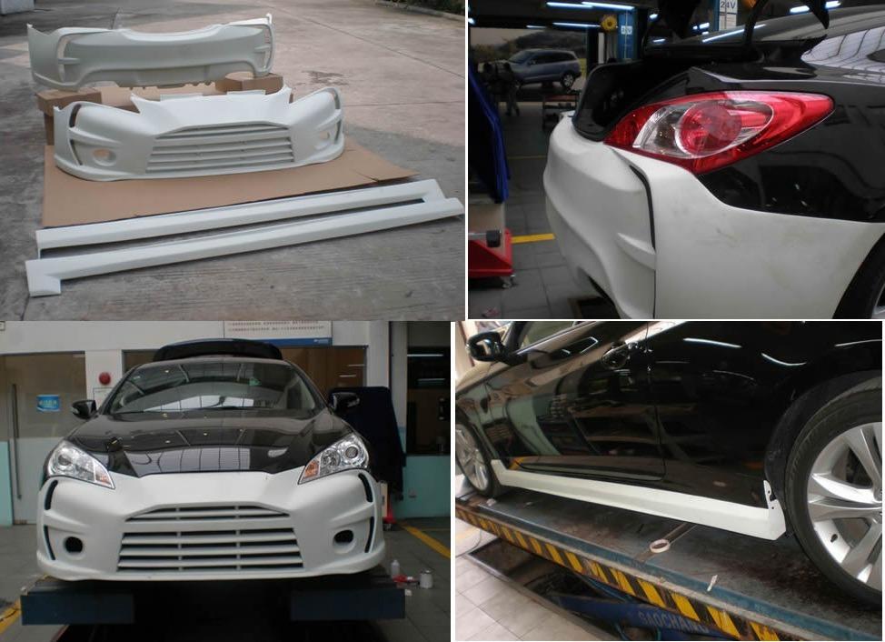 China Fiberglass Frp Body Kits For Hyundai Genesis 2008 Aston Martin China Bodykits Body Kits For Audi A4 B8 A4 B8 Carbon Bonnet Hood