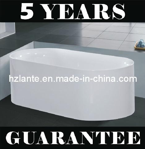 Freestanding Simple Bathtub with Eco-Friendly Material (LT-JF-7055)
