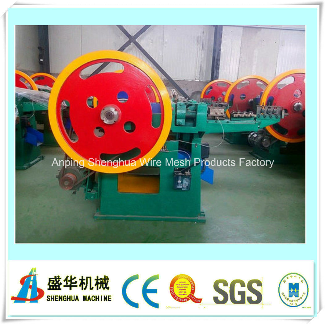 Construction Fully-Automatic Steel Nail Making Machine