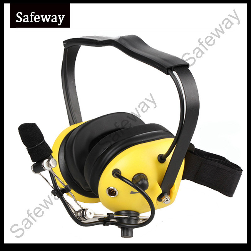 China Two Way Radio Aviation Noise Cancelling Headset for Motorola