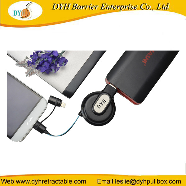 [Hot Item] Hot Sale Durable Movable Portable Retractable Mini USB 3.0 Extension Cable for Power Charger