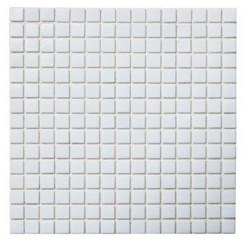 [Hot Item] White Swimming Pool Glass Mosaic Tile Cheap Mosaic Chinese  Factory