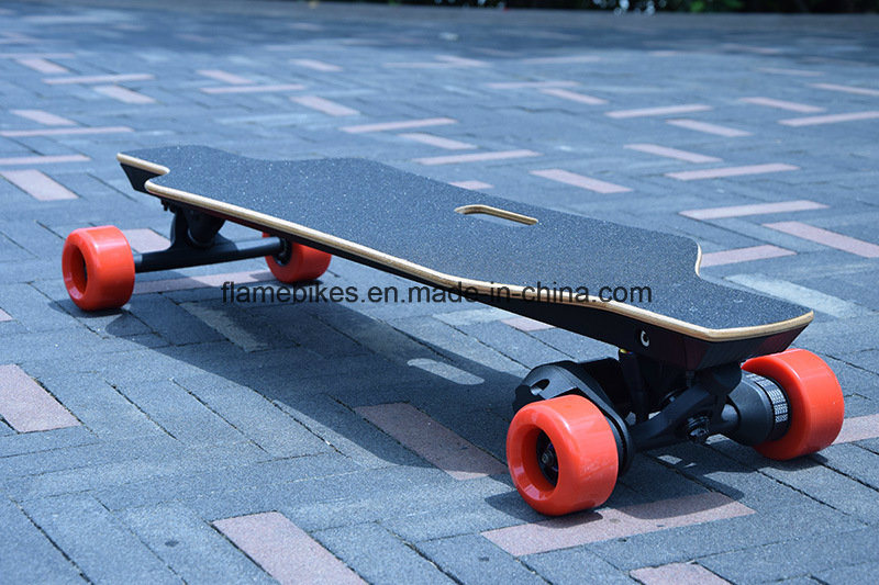 400W E Wheel Skateboard with 2.2ah Lithium pictures & photos