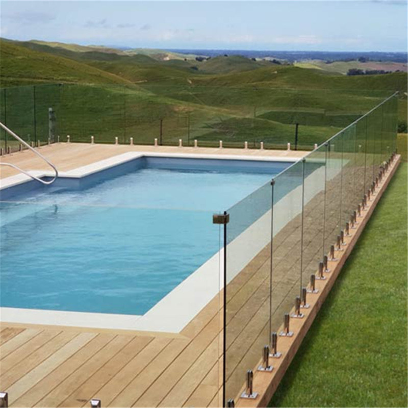 China Factory Manufacture Glass Pool Fence Home Aluminum Pool Fencing Garden Pool Railing Security Pool Fence China Security Pool Fence Garden Pool Railing