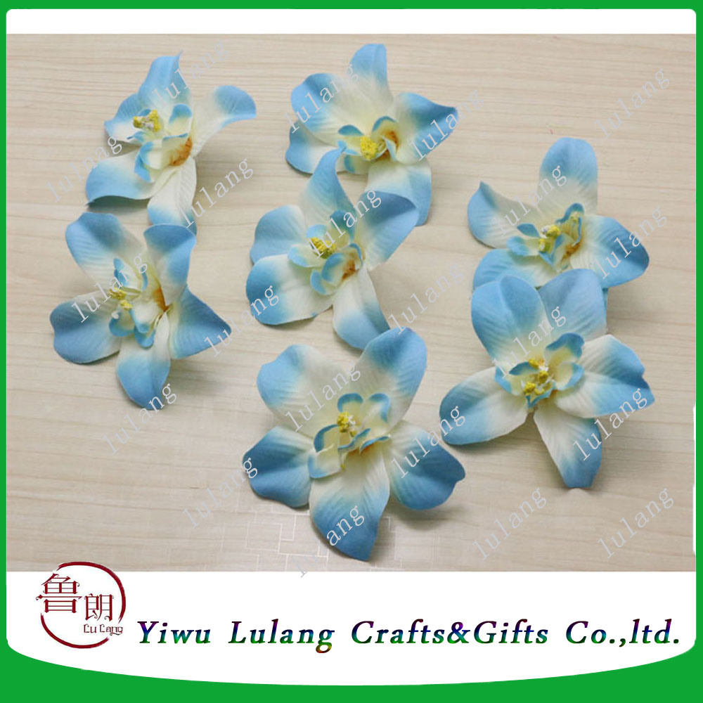 China Cheap Artificial Hair Silk Flower Heads For Wholesale China