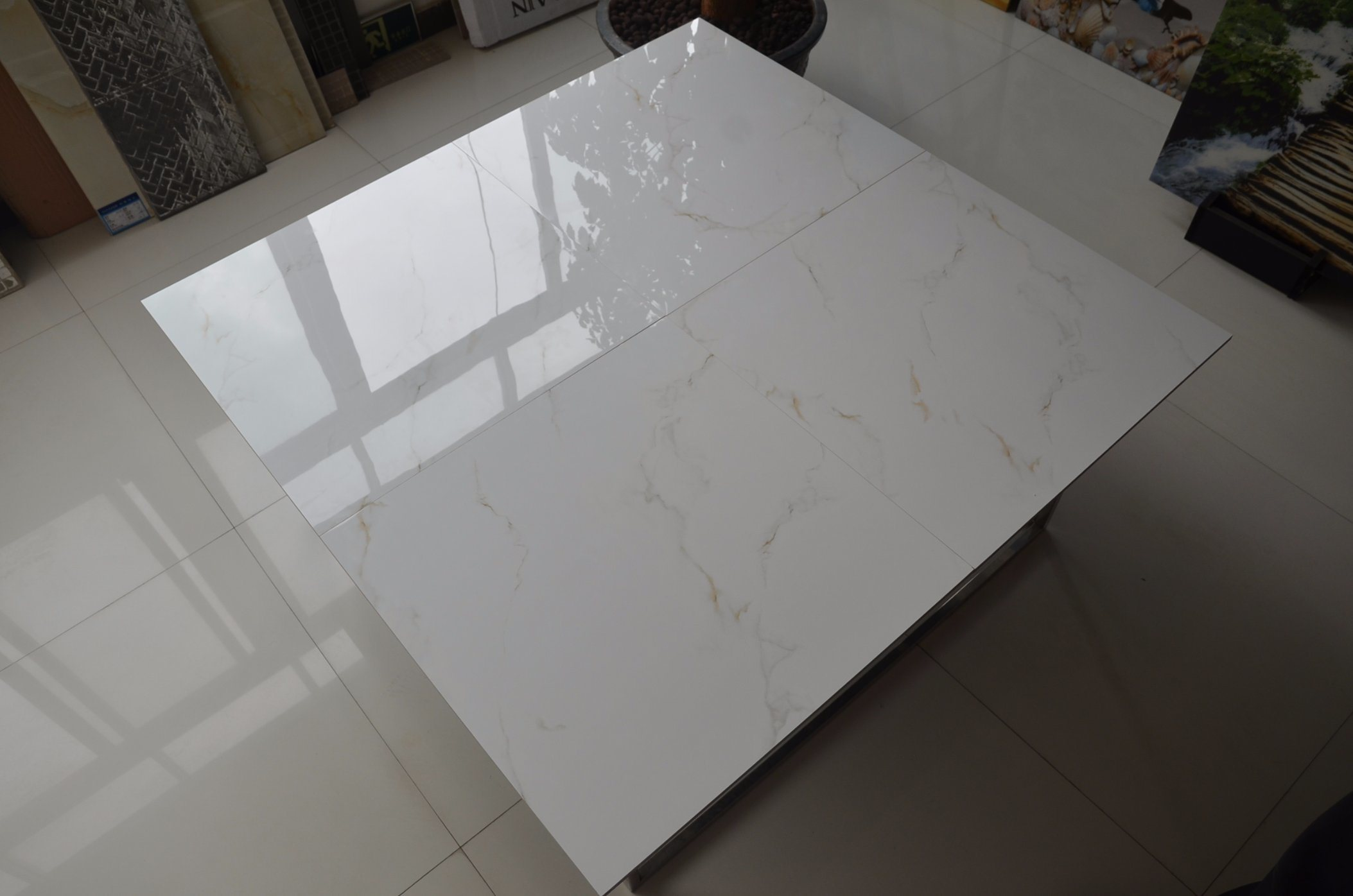 China 60X60 Full Glazed Wall and Floor Tiles Thin Porcelain Tile ...