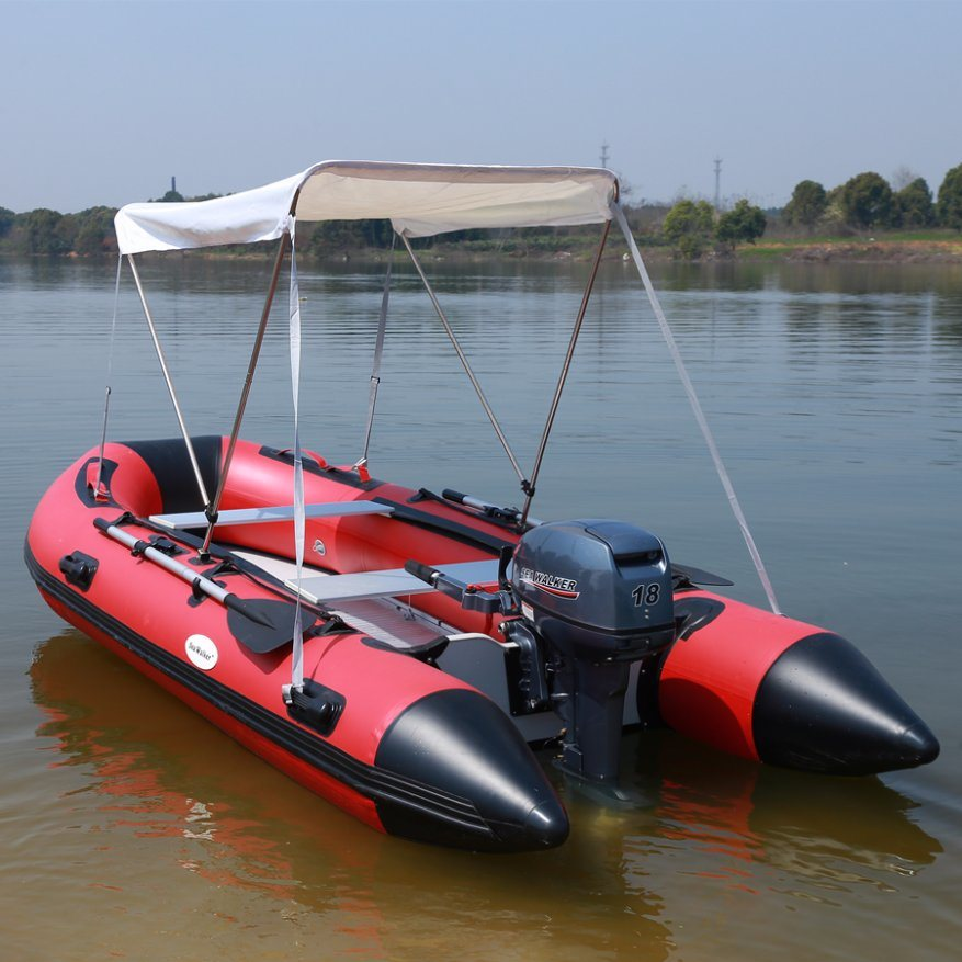 Aluminum Fishing Boats For Sale >> Hot Item Pvc Inflatable Fishing Boat With Aluminum Floor Paddle Rowing Boat For Sale