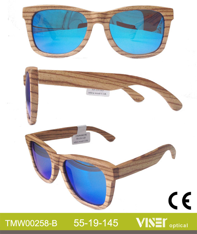 Custom Wooden and Bamboo Sunglasses (258-B)