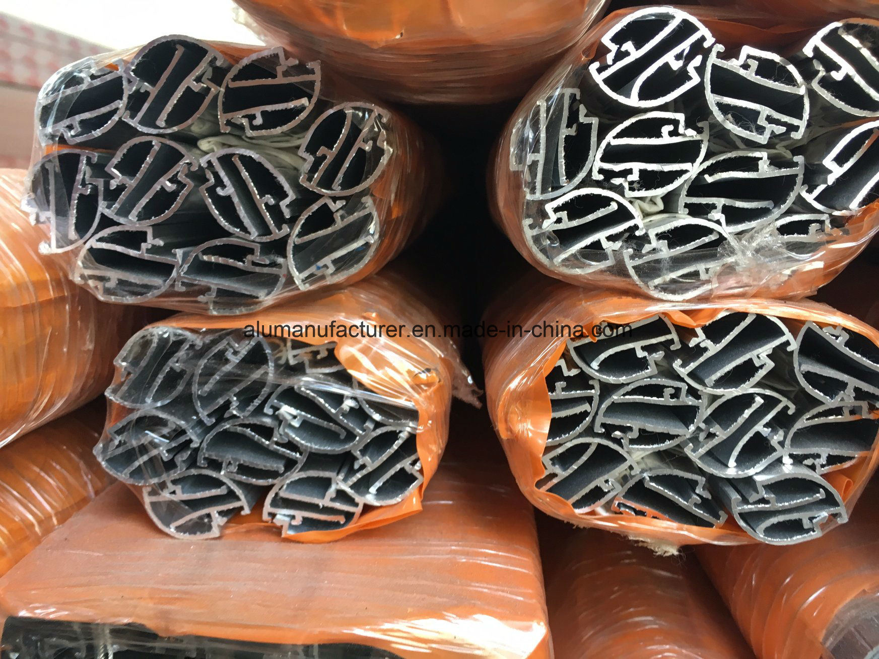 Iraq Glass Clip Aluminium Alloy Extrusion Profile for Door and Window (02 Series) pictures & photos
