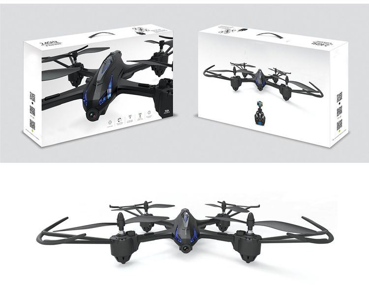 0759500-RC Quadcopter - RTF with 5MP Camera - Silver and Grey pictures & photos