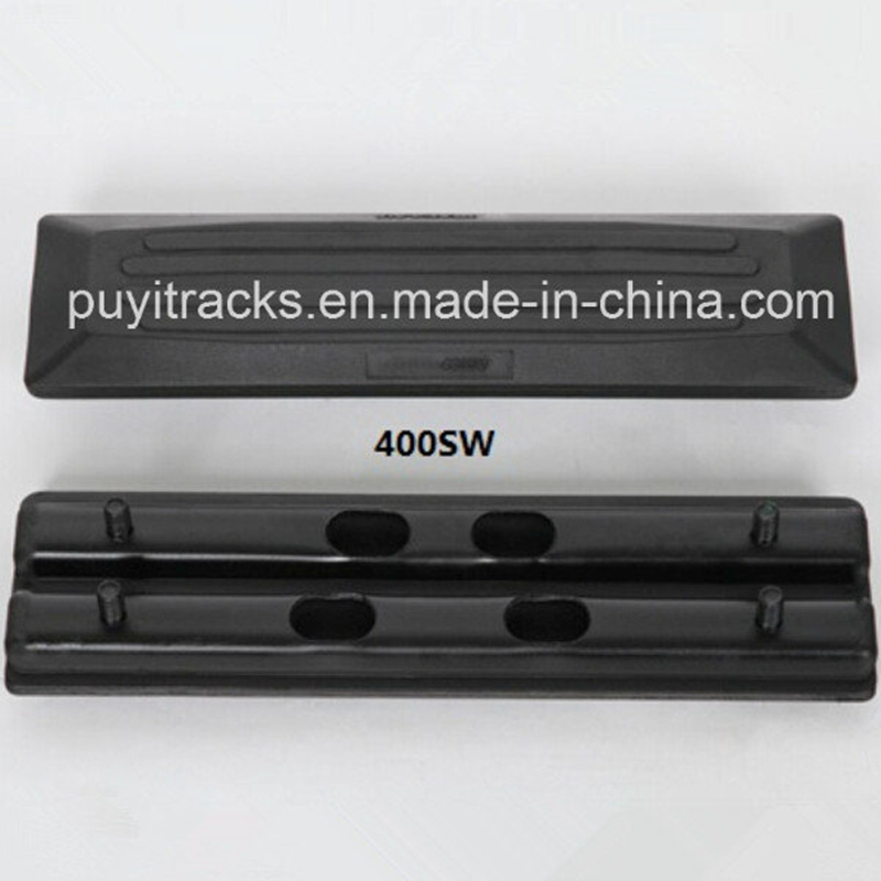 Rubber Pad Track Shoes Width 400mm for Komatsu Construction Machinery pictures & photos