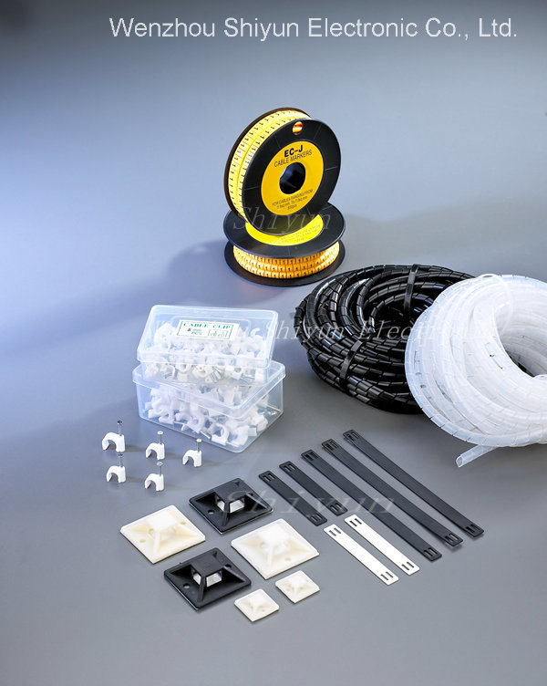 Wiring Accessories (cable markers/tie mounts/spiral wrapping bands)