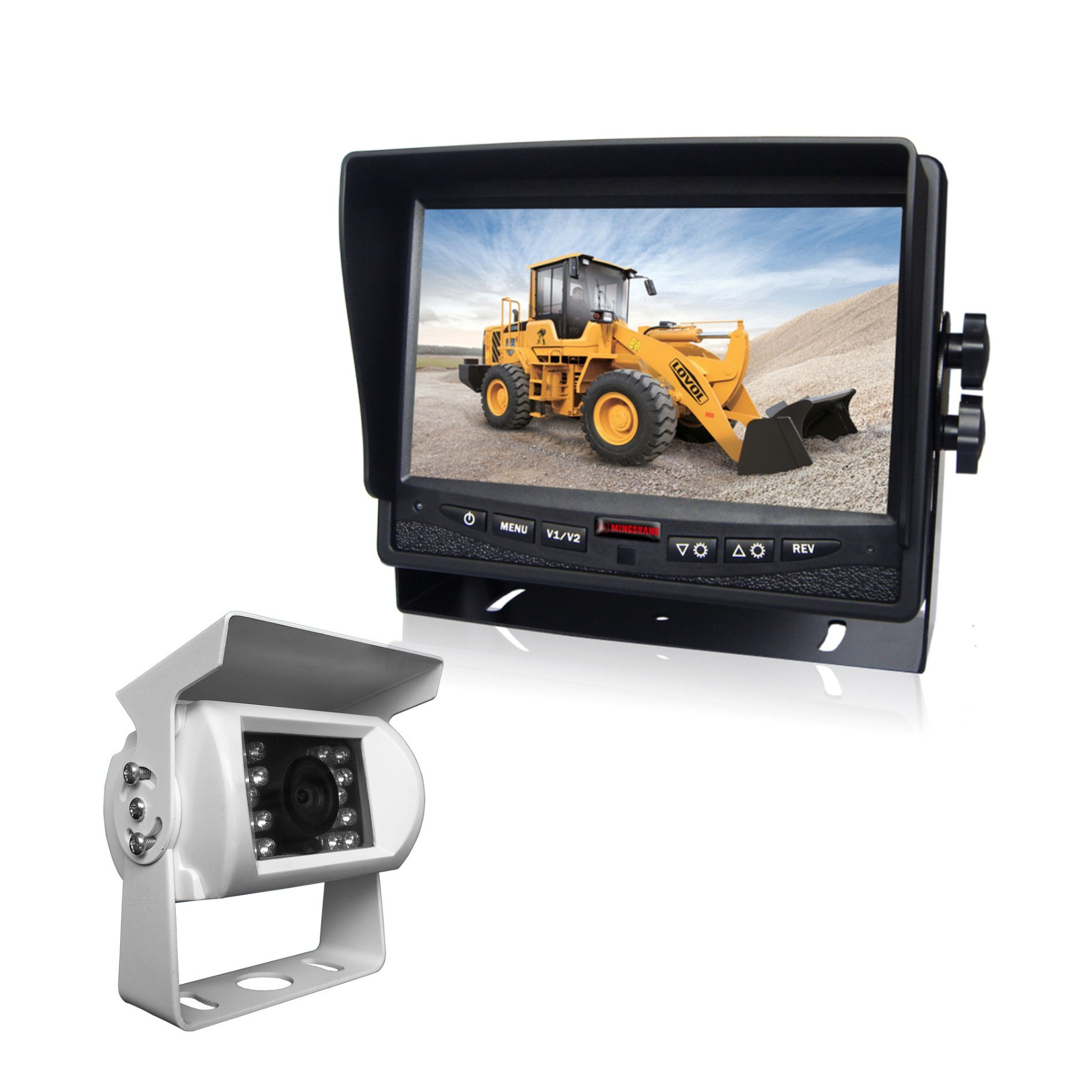7-Inch HD Reversing Camera HD Monitor for Trucks, Buses, Tracters pictures & photos
