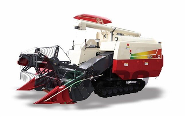Rice and Wheat Combine Harvester with 2.0m Cutting Width