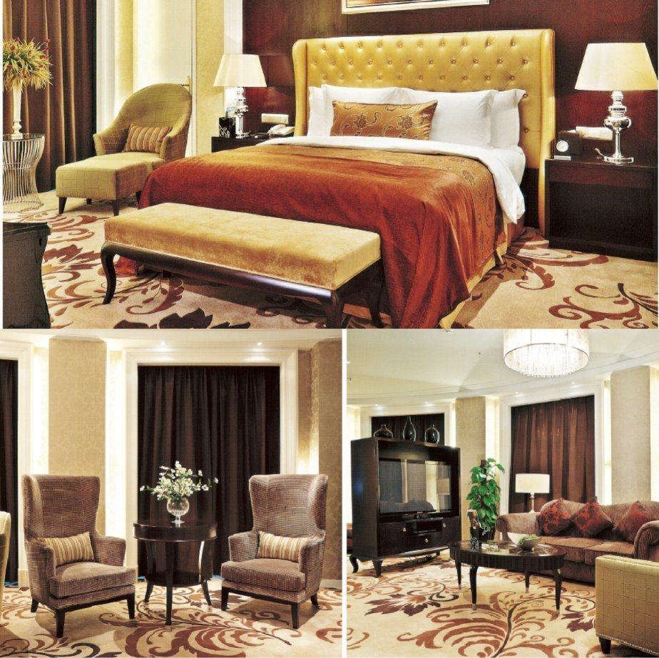 China Luxury Star Hotel President Bedroom Furniture Sets/Standard King Size  Room Furniture/Luxury Classic Single Bedroom Furniture (GLNB 040404)    China ...